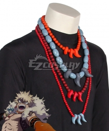 My Hero Academia Boku no Hero Akademia ED Katsuki Bakugo Necklace Cosplay Accessory Prop