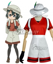 Kemono Friends Crested Ibis Cosplay Costume