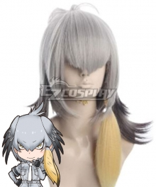 Kemono Friends Shoebill Silver Cosplay Wig