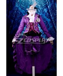 Black Butler Trancy Lolita Cosplay Costume Deluxe-KH12