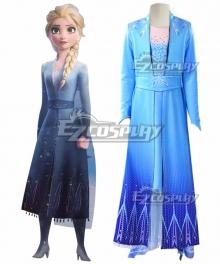 Kids Child Size Disney Frozen 2 Elsa Cosplay Costume