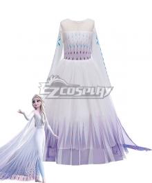 Kids Child Size Disney Frozen 2 Elsa Dress Cosplay Costume