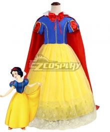 Kids Child Size Disney Snow White Princess Cosplay Costume