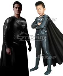 Kids DC Justice League  Clark Kent Superman Zentai Jumpsuit Cosplay Costume