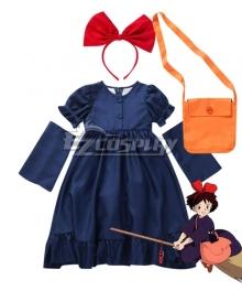 Kids Size Kiki's Delivery Service Kiki Halloween Cosplay Costume