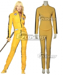 Kill Bill Vol.1 The Bride Beatrix Kiddo Cosplay Costume