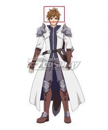 King's Raid: Successors of the Will Kasel Brown Cosplay Wig