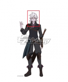 King's Raid: Successors of the Will Riheet Silver Cosplay Wig