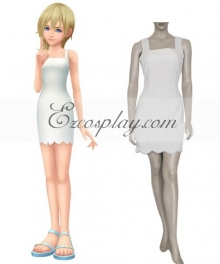 Kingdom Hearts 2 Namine Cosplay Costume