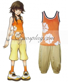 Kingdom Hearts 2 Olette Cosplay Costume