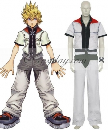 Kingdom Hearts 2 Roxas Cosplay Costume - Only Jacket