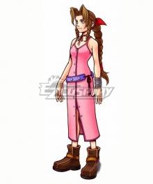 Kingdom Hearts Aerith Gainsborough Cosplay Costume