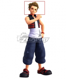 Kingdom Hearts II Kingdom Hearts 358/2 Days Hayner Golden Cosplay Wig