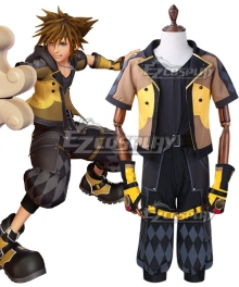Kingdom Hearts III Sora New Cosplay Costume