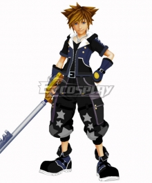 Kingdom Hearts III Sora Star Cosplay Costume