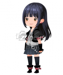 Kingdom Hearts Skuld Cosplay Costume