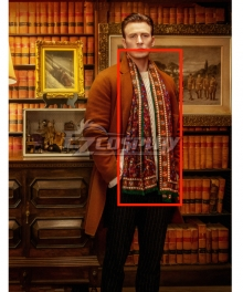 Knives Out Ransom Drysdale Cosplay Costume - Only Scarf