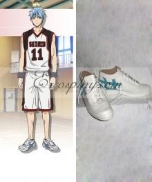 Kuroko's Basketball Kuroko no Basuke Seirin 11 Tetsuya Kuroko White Cosplay Shoes