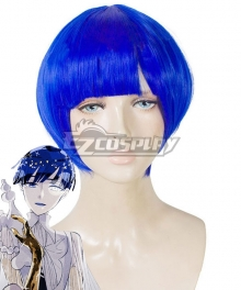 Land of the Lustrous Houseki no Kuni Lapis Lazuli Short Hair Blue Cosplay Wig