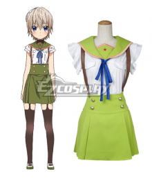 School-Live! Gakko Gurashi! Living at School! Miki Naoki Naoki Miki Cosplay Costume