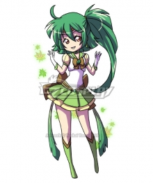 Sailor Scout cosplay leafeon Cosplay Costume