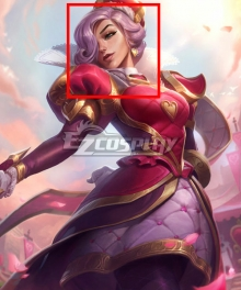 League of Legend Fiora Heartpiercer Pink Cosplay Wig