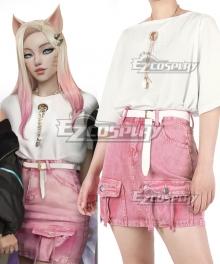 League of Legend LOL Ahri KDA K/DA Daily Cosplay Costume