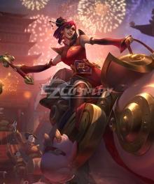 League of Legend LOL Firecracker Sejuani Cosplay Costume