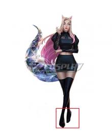 League Of Legends LOL 2020 KDA K/DA Ahri Black Cosplay Shoes