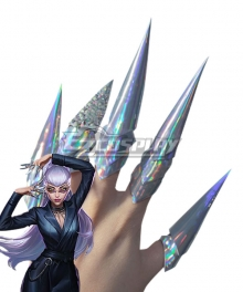 League Of Legends LOL 2020 KDA K/DA Evelynn Nails Accessory Prop
