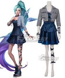 League Of Legends LOL 2020 KDA K/DA Seraphine Cosplay Costume