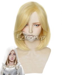 League Of Legends LOL 2020 Season Warriors Lux Golden Cosplay Wig