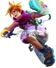 League Of Legends LOL Arcade Ezreal EZ Cosplay Costume