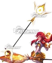 League Of Legends LOL Battle Academia Lux Prestige Edition Skin Cosplay Weapon Prop