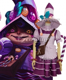 League of Legends LOL Bittersweet Lulu Christmas Cosplay Costume
