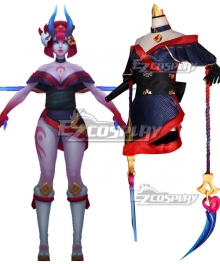 League of Legends LOL Blood Moon Evelynn Cosplay Costume