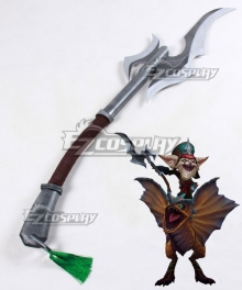 League of Legends LOL Classic Kled the Cantankerous Cavalier Spear Cosplay Weapon Prop