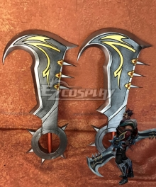 League Of Legends LOL Draven The Glorious Executioner Two Axe Cosplay Weapon Prop