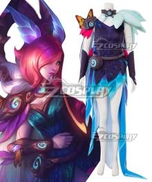 League Of Legends LOL Elderwood Xayah Cosplay Costume