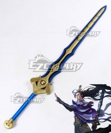 League of Legends LOL Eternal Sword Yi Master Yi the Wuju Bladesman Sword Cosplay Weapon Prop
