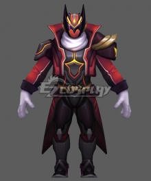 League Of Legends LOL FPX 2019 WORLD Skins Gangplank Cosplay Costume