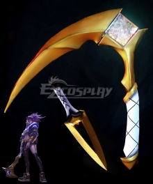 League Of Legends LOL K/DA Akali Scythe And Dagger Cosplay Weapon Prop - A Edition