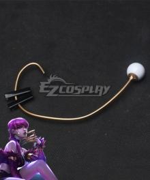 League Of Legends LOL KDA K/DA Evelynn Headset Cosplay Accessory Prop