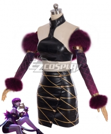 League Of Legends LOL KDA K/DA Evelynn New Edition Cosplay Costume