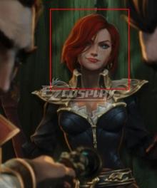 League Of Legends LOL Tales of Runeterra: Aguas Estancadas Miss Fortune Orange Cosplay Wig