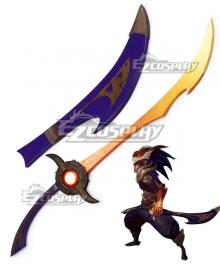 League Of Legends LOL Nightbringer Yasuo Cosplay Weapon Prop