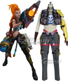 League Of Legends LOL Odyssey Jinx Skin Cosplay Costume