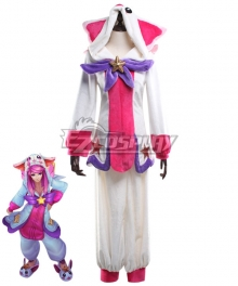League Of Legends LOL Pajama Guardian Lux Cosplay Costume