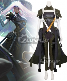 League of Legends LOL Psyops Sona Cosplay Costume