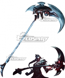 League of Legends LOL Shieda Kayn The Shadow Reaper Sickle Cosplay Weapon Prop